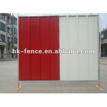Colour bond Fence steel hoarding barriers