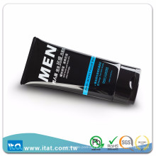 Amostra grátis vazio hotel shampoo pasta de dente cosmética mangueira tubo flip top cap