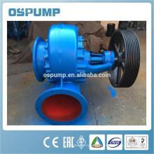 Pompe à écoulement mixte centrifuge horizontale avec le moteur