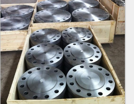 RF flange threaded