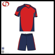 Cheap Wholesale Polyester Soccer Uniform Mens Uniform