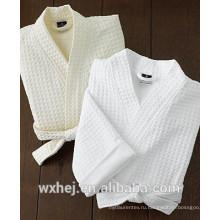 мужской вафельный кимоно халат сделано в Китае