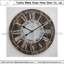 Anpassung Wooden Clock Home Decoration