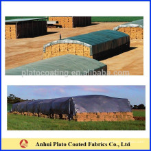 Custom waterproof/windproof round bale hay tarps cover