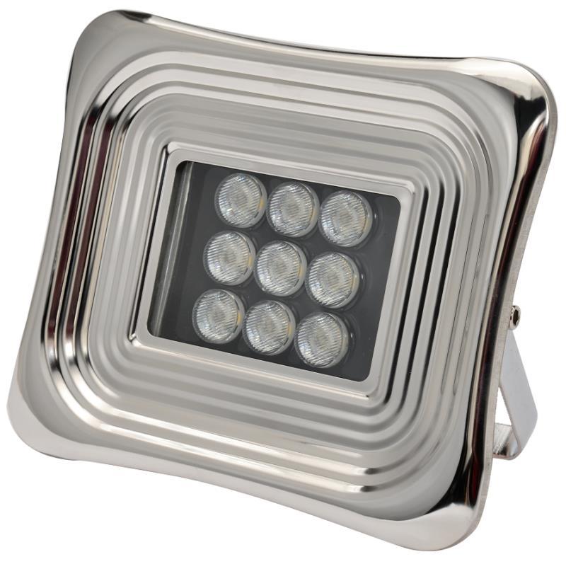 Energy-saving floodlights used in workshops