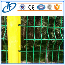 TUOFANG Garden Fence Panel dengan Peach Shaped Post