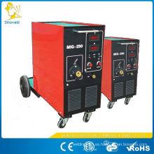 Especificaciones de la máquina de soldadura tig