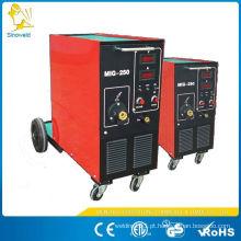 Especificações da máquina de solda tig