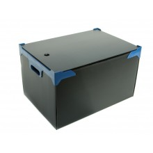 Good Quality for Black Carton Type Turnover Box Correx Storage Bin Dividers supply to United States Supplier