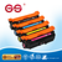 remanufactured Compatible CE250A CE251 CE252 CE253 toner cartridges For HP CP3525/CP3525dn