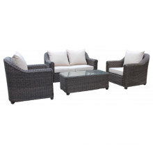 Wicker Garden Outdoor Furniture Rattan Lounge Patio Sofa Set
