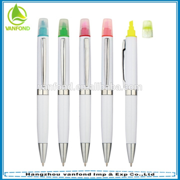Meilleure vente de produits de papeterie de bureau 2014 gel stylo surligneur