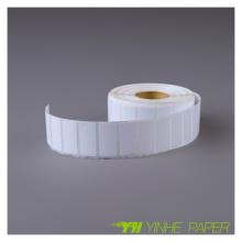 Hotmelt Printing Adhesive Label Sticker, Matt Sliver Sticker Printed Label