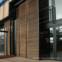 Doorwin exterior front main gate designs in wood door jamb for decoration