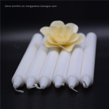 Decoración de boda de diferentes tamaños Vela blanca perfumada