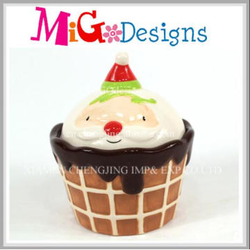 Hot Selling Ceramic Decoration Cup Cake Coin Box