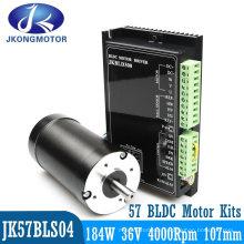 Good Quality Customized 12V 24V 36V 48V 310V Brushless DC Motor 23W- 2500W with Encoder or Gearbox BLDC Motor Kits
