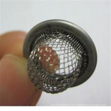 Bola de infusor de chá de aço inoxidável barata usada para filtro de café