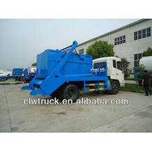8 toneladas Dongfeng DFL pulverizar caminhão de lixo