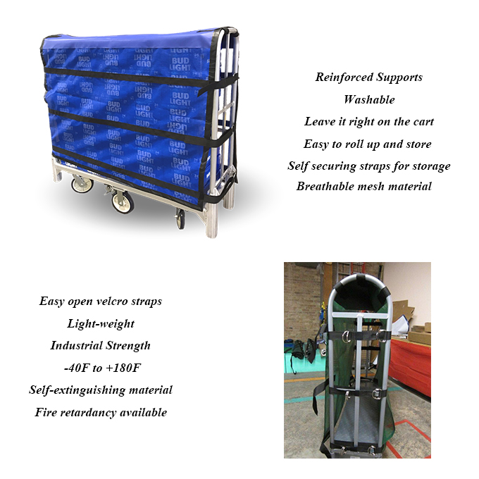 Cart wraps cover
