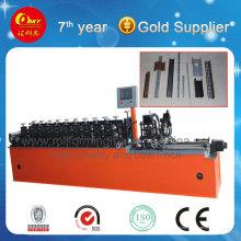 Alta velocidade CUL Omega Shape metal Furring Channel Roll formando máquina