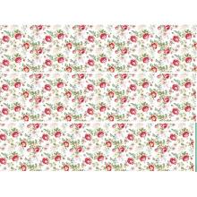 Poliéster / tejido de algodón para hacer juegos de cama, diseño silenciosamente elegante