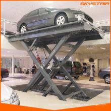 Hydraulische Autoscherenbühne / Hubtisch