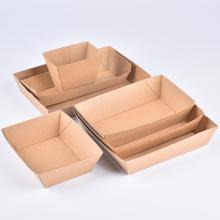 Компостируемый перерабатываемый биоразлагаемый лоток для обеденной бумаги