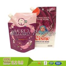 Verpackung Hersteller Großhandel Leckage Beweis Verpackung Kunststoff Stand Up Refill Flüssigkeitsbeutel mit Ausguss