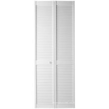 Color blanco closet Bi-Fold Full Louver Door