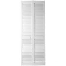 White Color Closet Bi-Fold Full Louver Door
