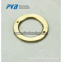 Metal/polymer composite thrust washer,Teflon washer with bronze backing