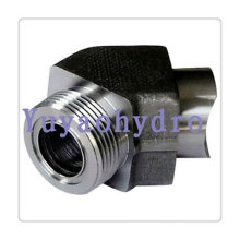 Weld Connection 75 Deg Elbow Fittings Orfs Tube Connector