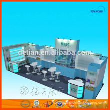 Customized durable advertising exhibits display phone exhibition display