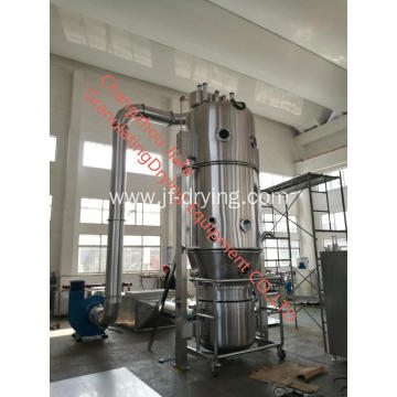 Fertilizer fluid bed bottom spray coating machine