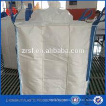 Bolsa deflectora FIBC 1500kg - Bolsa gigante para polvo de sílice con deflector y abrazadera en el interior