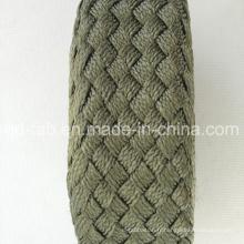 Vente en gros Tissu tressé en polyester de haute qualité