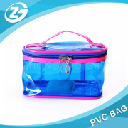 Hot Sale Cheap Customized Transparent PVC Big Cosmetic Bag