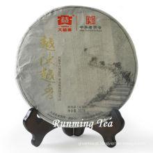 """2011 Dayi """"Yue Cheng Yue Xiang"""" Raw Pu Er chá Puer chá bolo de matérias-primas para o chá 357g / bolo"""
