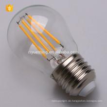 LED G45 Glühlampe, dimmbar, Vintage Edison Lampe, 200 Lumen, warmweißes Glühen, rundstrahlend, E27 Sockel
