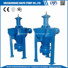 Vertical froth slurry pump