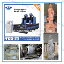 JK-6028-2SY big sculpture making cnc/3d stone cnc sculpture machine