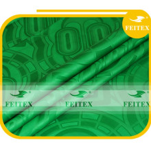 Nueva Llegada Verde Bazin Riche Garment Guinea Brocade Tela Textiles Africanos Para Fiesta de Boda FEITEX