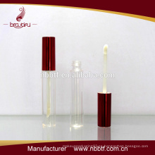 Precio de fábrica hialina vacía tubo de mascara de plástico, maquillaje botella de rímel de plástico, cepillo de rimel con botella de plástico PES16-4