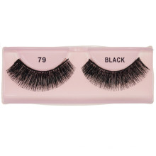 Private label resuable glue free pure natural human hair double layered triple magnetic eyelashes