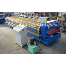 CE Warna Steel Sheet dinding Roll Forming Machine