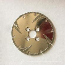 disco de diamante 230 mm hoja de sierra circular para mármol de corte seco