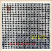 Maille de rideau en métal d'approvisionnement d'usine / maillon de chaîne