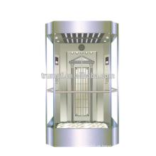 2016 nova tecnologia Observação vidro elevador elevador panorâmico