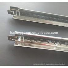 Usine en T de grille en aluminium de plafond, grille en T galvanisée